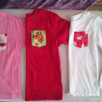 Customized Toddlers Pocket T-Shirt