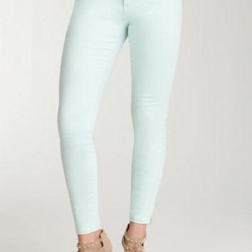 Ankle Zip Pave Icon Skinny Jean - WEB EXCLUSIVE