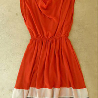 Spiced Chiffon Dress [3381] - $46.00 : Vintage Inspired Clothing &amp; Affordable Fall Frocks, deloom | Modern. Vintage. Crafted.