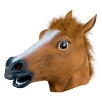 Amazon.com: Accoutrements Horse Head Mask: Toys &amp; Games