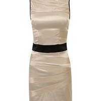 Dressrail.com - Satin Bandage Dress