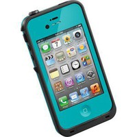 TEAL BLUE Lifeproof 2nd Generation Case - iPhone 4 / 4S Waterproof / Dirtproof