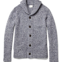 Hartford Shawl-Collar Wool-Blend Cardigan | MR PORTER
