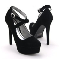Amazon.com: Qupid Women's Marquise-09 Platform High Heel Stiletto Pump: Shoes