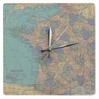 Finding Paris Together Clock from Zazzle.com