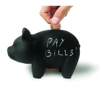 Blackboard Piggy Bank