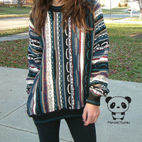 AZTEC VINTAGE 1980&#x27;s SWEATER