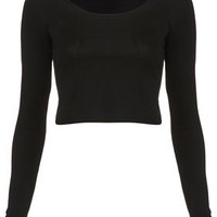 Long Sleeve Crop Tee - Jersey Tops  - Apparel