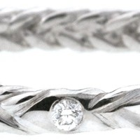 Fishtail Diamond Ring - Bands - Fine Jewelry - Collections