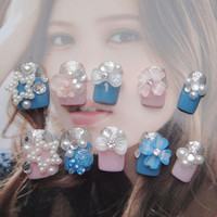 False Nails- kawaii DIY fake nails.cute for your hands.you can choose the short or long length.