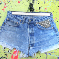 Levi's Studded Shorts on Luulla