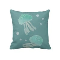 Jellyfish Pillow from Zazzle.com