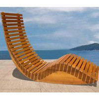 Outdoor Seating: Modern Outdoor Rocker Chair