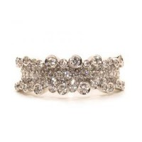 Small 1.20ctw Diamond Corset Ring