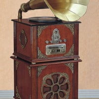 "Victorian trading Co. - www.victoriantradingco.com - Gramophone Entertainment Center<br/><img src=/ebaydav/images/bestsellertag.jpg alt=""bestseller tag"">"