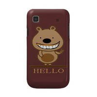 Bear Samsung Galaxy S Case from Zazzle.com