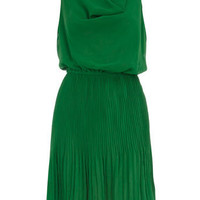Green cowl neck dress - View All New In   - What's New  - Dorothy Perkins