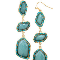 Teal London Earrings – Modeets