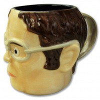 The Office Dwight Head-Shaped Mug