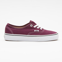 Canvas Authentic Vans