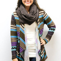 MACA Clothe · Tribal Cardigan in Purple