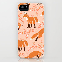 Socks the Fox - Dawn iPhone Case by Patty Sloniger | Society6