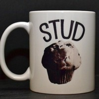 Stud Muffin Coffee Mug - Gift for Husband Boyfriend