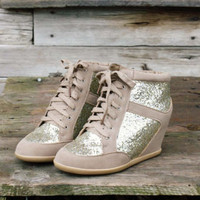 Glittering Stroll Tennies, Sweet Rugged Boots