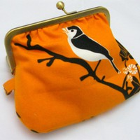 Fabby Purse -Orange Bird on Luulla