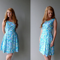 1950s Monet Sundress by coralvintage on Etsy