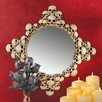Mystic Skulls Wall Mirror 