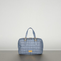 Blue Crocodile Print Handbag Women - Bags Women on Emporio Armani United Kingdom