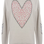 Scandi Heart Sweat - Jersey Tops  - Apparel
