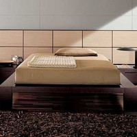 Doimo Elite Soho Platform Bed with Natural Panels