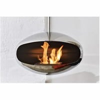 Hanging Stainless Steel Cocoon Fire