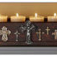 Crosses Tea Light Holder