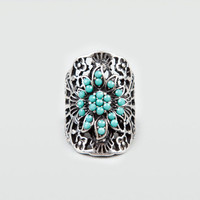 FULL TILT Text Oval Ring 184864140 | Rings | Tillys.com