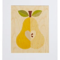 Amour-chard Print in Pear | Mod Retro Vintage Wall Decor | ModCloth.com