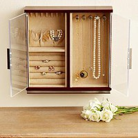 wall jewelry armoire from RedEnvelope.com