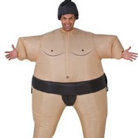 Amazon.com: Inflatable Sumo Adult Costume: Clothing