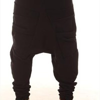 Black loopback joggers from Ricky Simpson