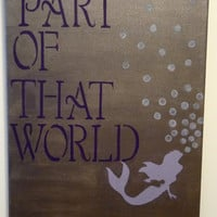 The Little Mermaid Print