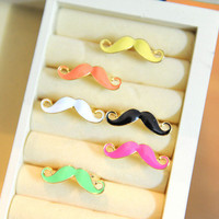 Simple Cute Mustache Ring