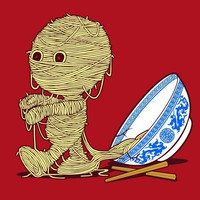 $20.00 Ramen's Return T-shirt - Threadless.com - Best t-shirts in the world