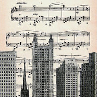 MUSIC retro 47 by artretro on Etsy