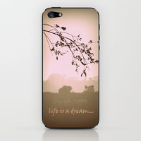 life is a dream iPhone & iPod Skin by Marianna Tankelevich | Society6