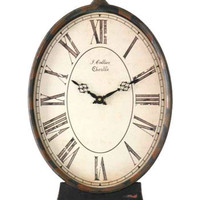 Zentique Decor Paris Table Clock