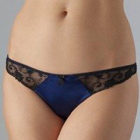 Nightshade Sophia Thong - set of 2 lace and sheer thong