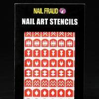 Nail Fraud Nail Stencils
