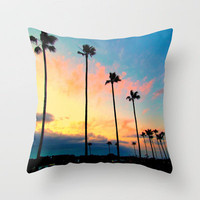 California Living  Throw Pillow by Tara Yarte  | Society6